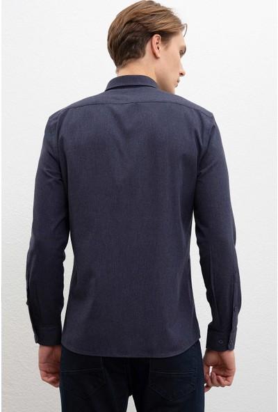 U.S. Polo Assn. Erkek Dokuma Gömlek 50220233-Vr033