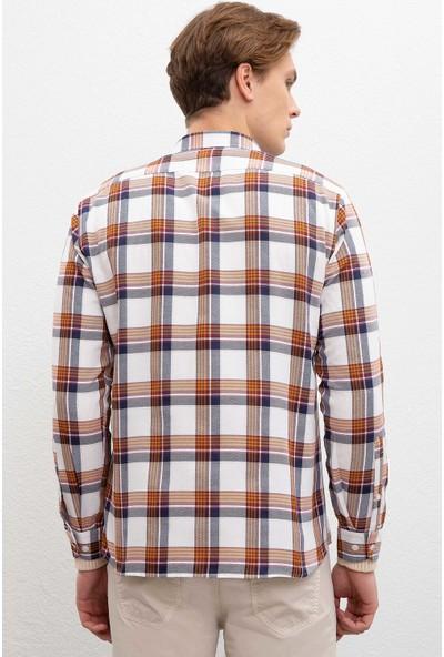 U.S. Polo Assn. Erkek Dokuma Gömlek 50220247-Vr072
