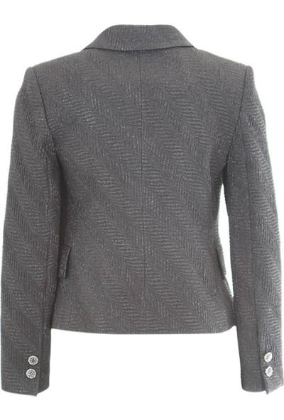 Chilia 3219 Kadın Ceket Siyah