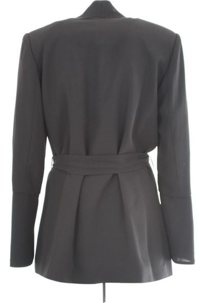 Miarte 18234 Kadın Ceket Siyah