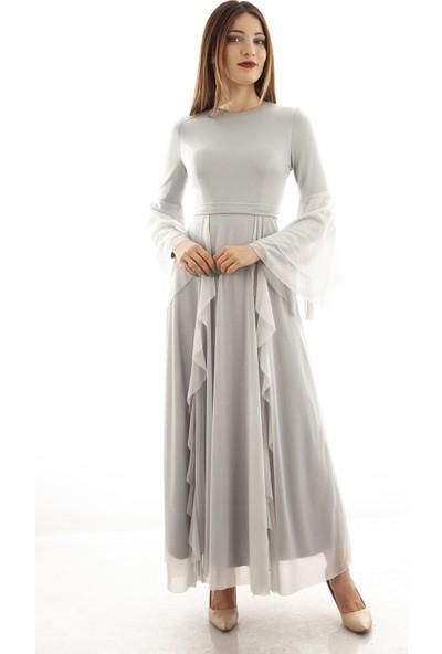 Ardanewline Kadın Gri Elbise 1024187-11.06