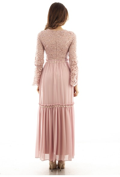 Ardanewline Kadın Pudra Elbise 1064043-10.79