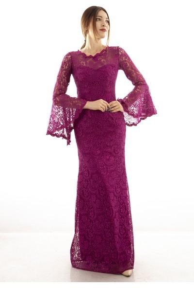 Ardanewline Kadın Fuşya Elbise 130105-10.12