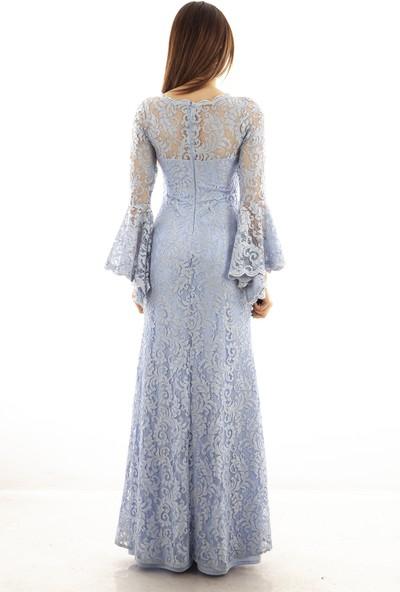 Ardanewline Kadın Mavi Elbise 130105-10.16