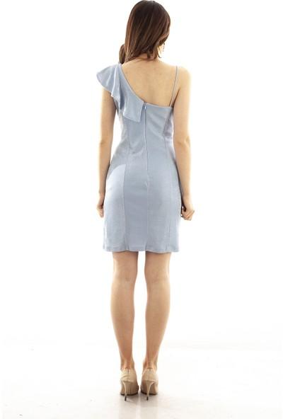 Ardanewline Kadın Mavi Elbise 130503-10.16