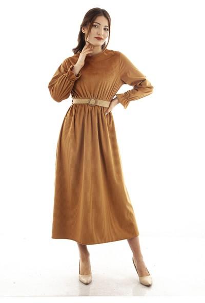 Ardanewline Kadın Camel Elbise 3508702.09