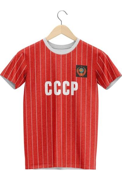 Cccp T Shirt (Kırmızı)