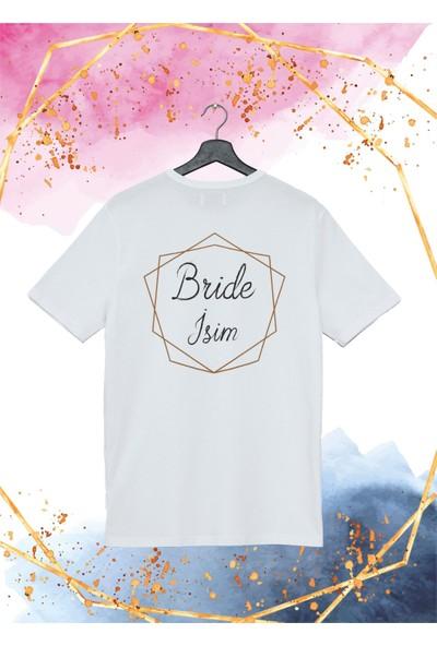 Hobi Tuning İsme Özel Tişört - Bride Desenli