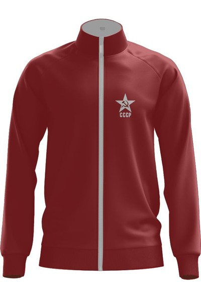 Freysport Freysport Cccp Zip Ceket Bordo