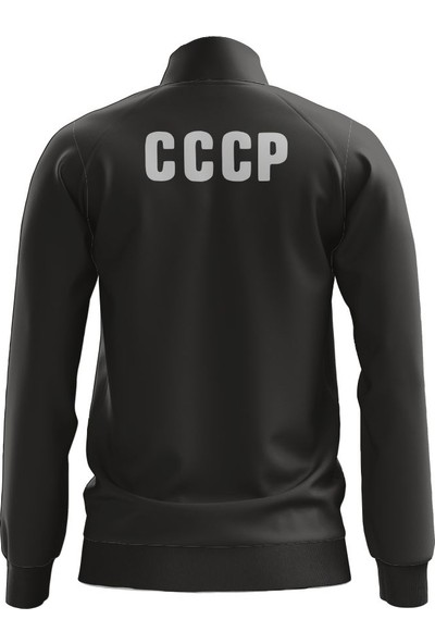 Freysport Cccp Zip Ceket - Siyah