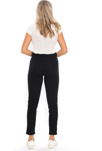 Giyense Siyah Kot Pantolon