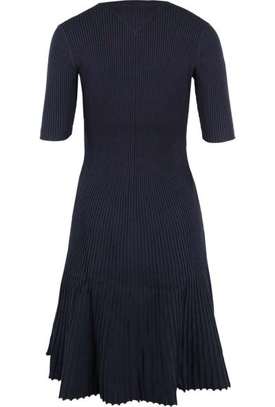 Tommy Hilfiger Kadın Elbise Dw0Dw04124-002