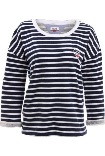 Tommy Hilfiger Kadın Sweatshirt Dw0Dw01681-902