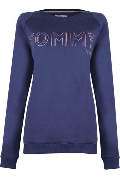 Tommy Hilfiger Kadın Sweatshirt Dw0Dw02654-423