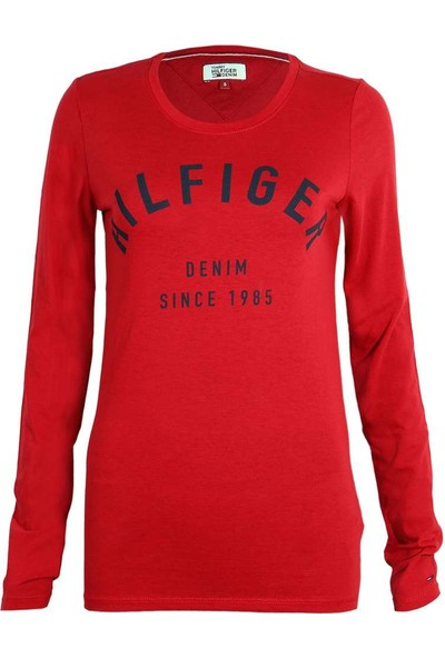 Tommy Hilfiger Kadın Sweatshirt Dw0Dw02667-666