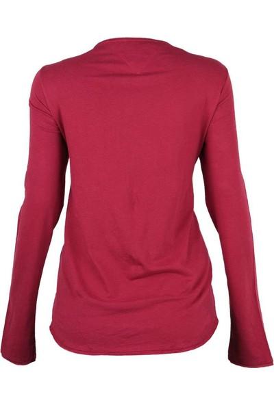 Tommy Hilfiger Kadın Sweatshirt Dw0Dw02678-666