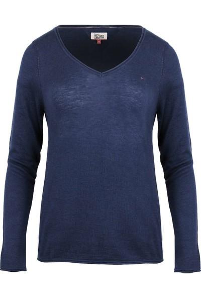 Tommy Hilfiger Kadın Sweatshirt Dw0Dw02682-423