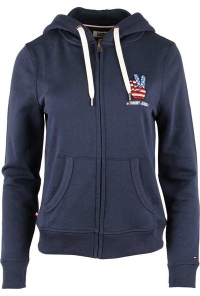 Tommy Hilfiger Kadın Sweatshirt Dw0Dw04076-002