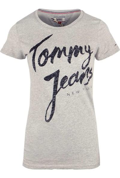 Tommy Hilfiger Kadın T-Shirt Dw0Dw04065-000