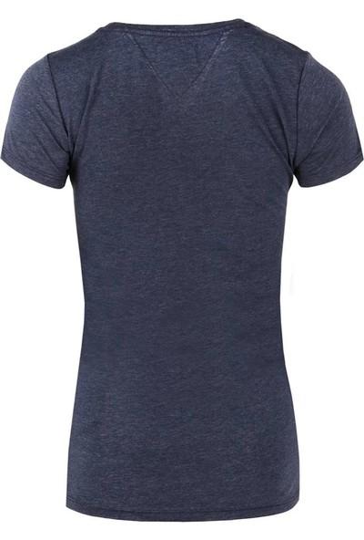 Tommy Hilfiger Kadın T-Shirt Dw0Dw04065-002