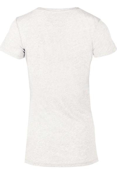 Tommy Hilfiger Kadın T-Shirt Dw0Dw04065-113