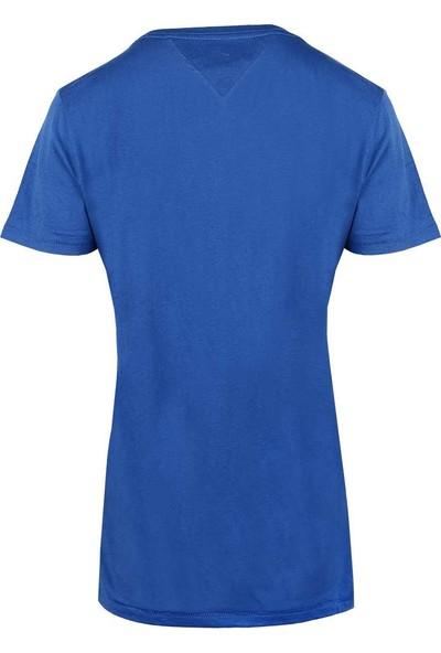 Tommy Hilfiger Kadın T-Shirt Dw0Dw04070-407