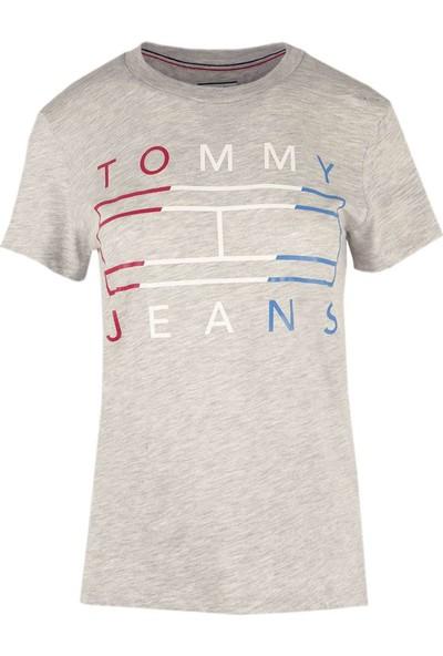 Tommy Hilfiger Kadın T-Shirt Dw0Dw04074-000