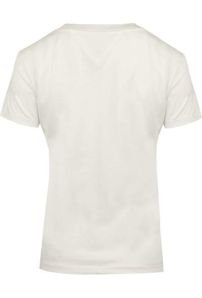Tommy Hilfiger Kadın T-Shirt Dw0Dw05265-113