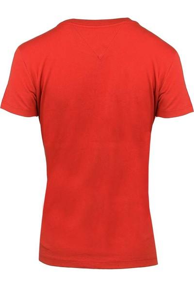 Tommy Hilfiger Kadın T-Shirt Dw0Dw05265-602