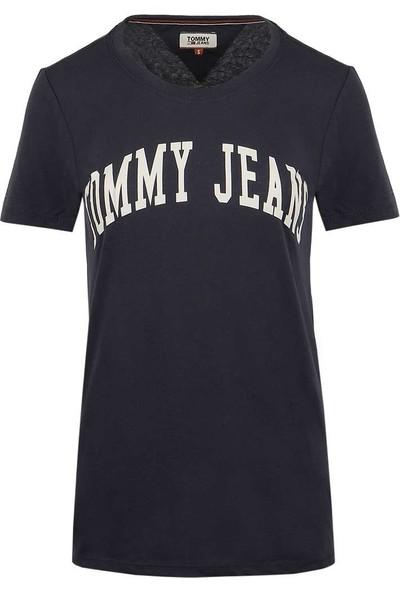 Tommy Hilfiger Kadın T-Shirt Dw0Dw05266-002