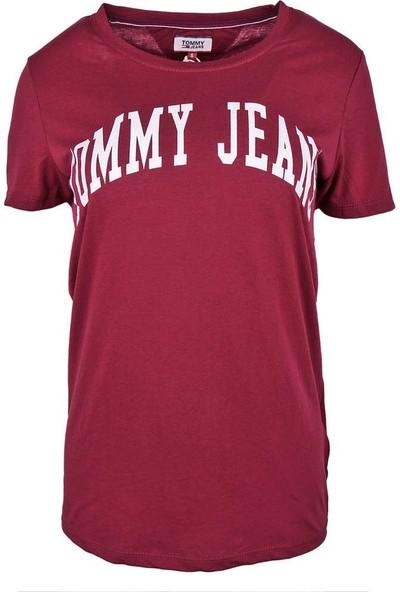 Tommy Hilfiger Kadın T-Shirt Dw0Dw05266-610