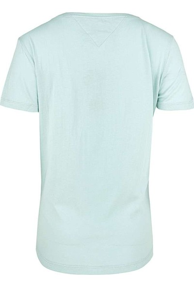 Tommy Hilfiger Kadın T-Shirt Dw0Dw05938-407