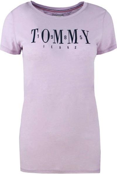 Tommy Hilfiger Kadın T-Shirt Dw0Dw06453-575