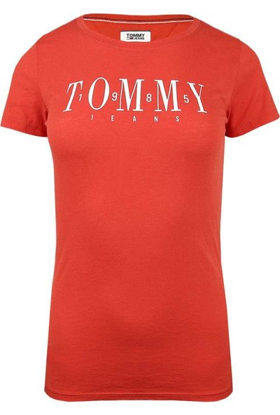 Tommy Hilfiger Kadın T-Shirt Dw0Dw06453-667