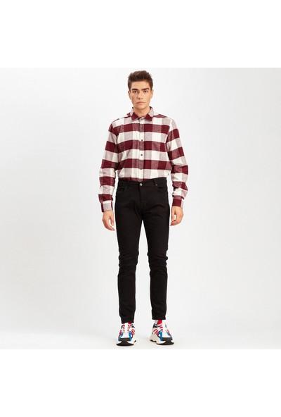 Manche Siyah Erkek Pantolon | Me19S410025