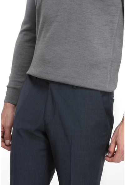 D'S Damat Lacivert Kumaş Pantolon