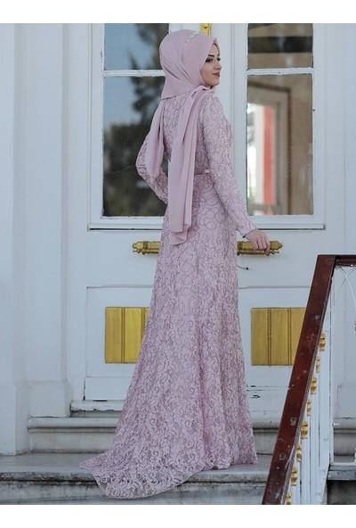 Al-Marah Pudra Milen Abiye Elbise
