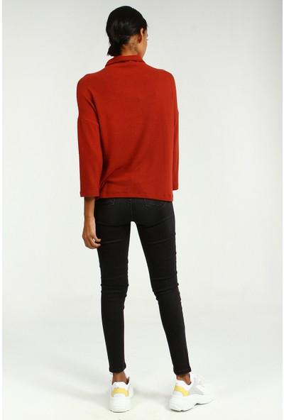 Collezione Kadın Kiremit Regular T-Shirt Nisera