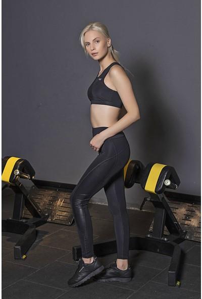 Lilyum Sports Spor Tayt Yoga Pilates Giyim - Maya Design Derili