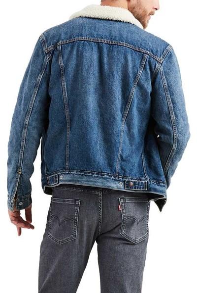 Levi's Erkek Kürklü Kot Ceket 16365-0089
