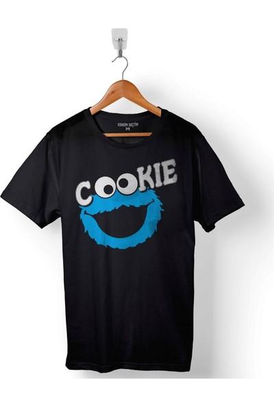 Kendim Seçtim Cookie Kurabiye Canavari Susam Sokaği Erkek Tişört
