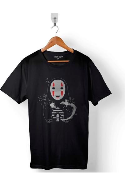 Kendim Seçtim Spirited Away No Face Miyazaki Erkek Tişört