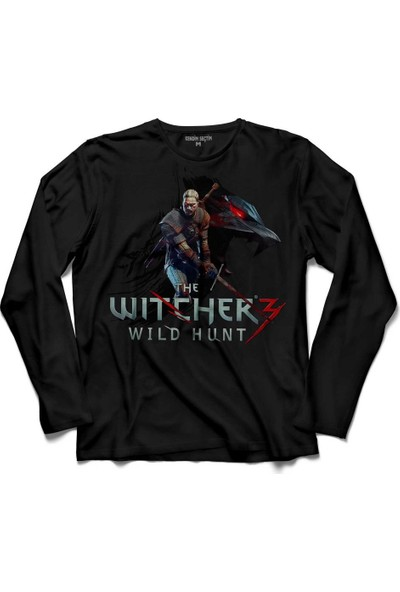 Kendim Seçtim The Witcher 3 Iii Wild Hunt Riviali Geralt De Riv 2 Kollu Tişört