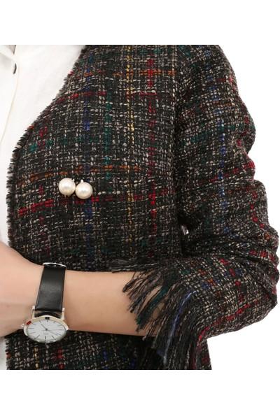 Tasarım Atölyesi Kadın Püskül Detaylı Ceket