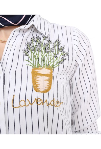Tasarım Atölyesi Kadın Onde Nakışlı Gömlek