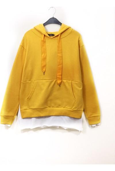 Siyo Butik Yırtmaçlı Sweatshirt