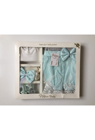 Ponpon Baby Premium Kız Mevlüt Takımı