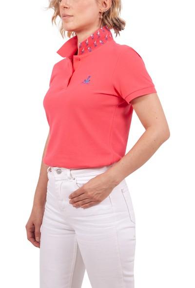 Biggdesign Anemoss Gemici Martı Kadın Polo Yaka T-Shirt