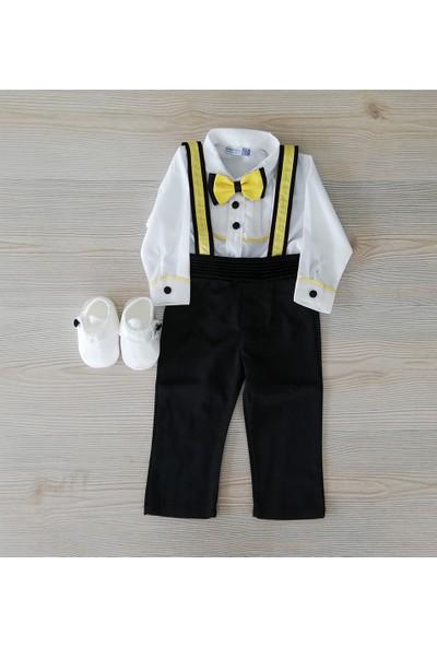 Pugi Baby Erkek Bebek Mevlüt Takımı Askılı