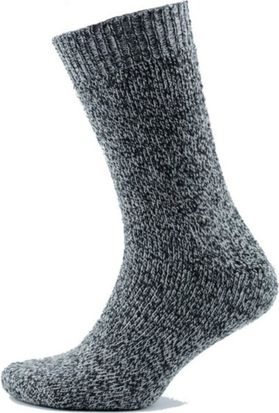 Gowith Norweger Socks 3 Lü Yıkanmış Yün Çorap